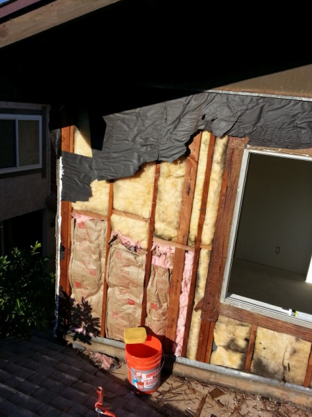 Tyvek House Wrap Behind New T1-11 Siding And Corners