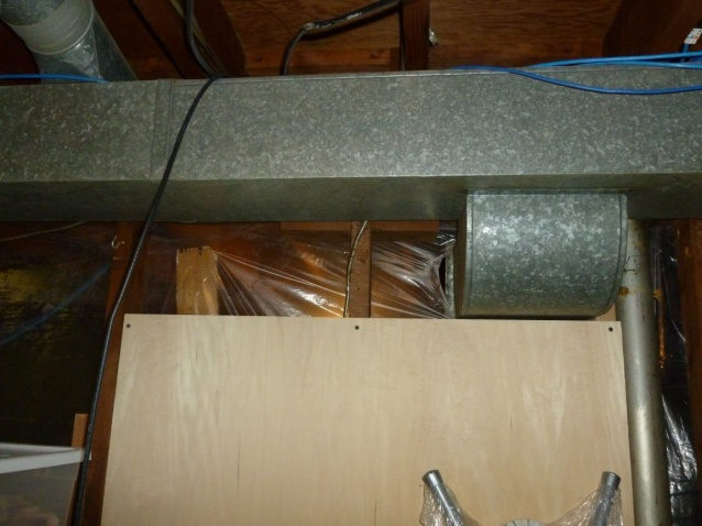 Drilling through wood support beam in basement-pic1.jpg
