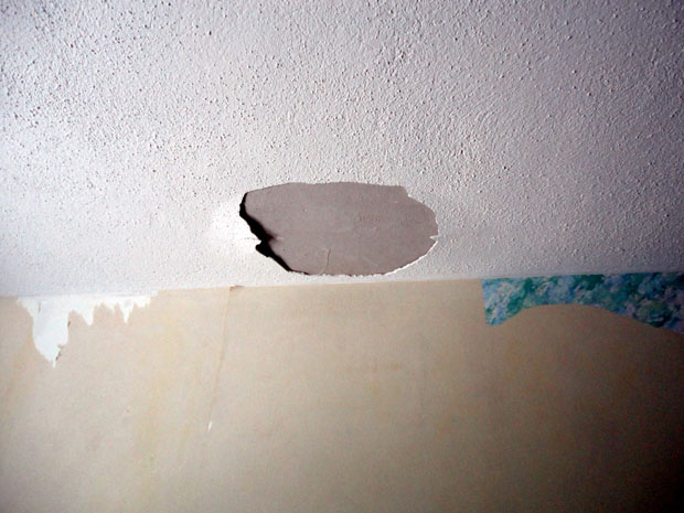 How To Fix Ceiling Drywall Plaster Diy Chatroom
