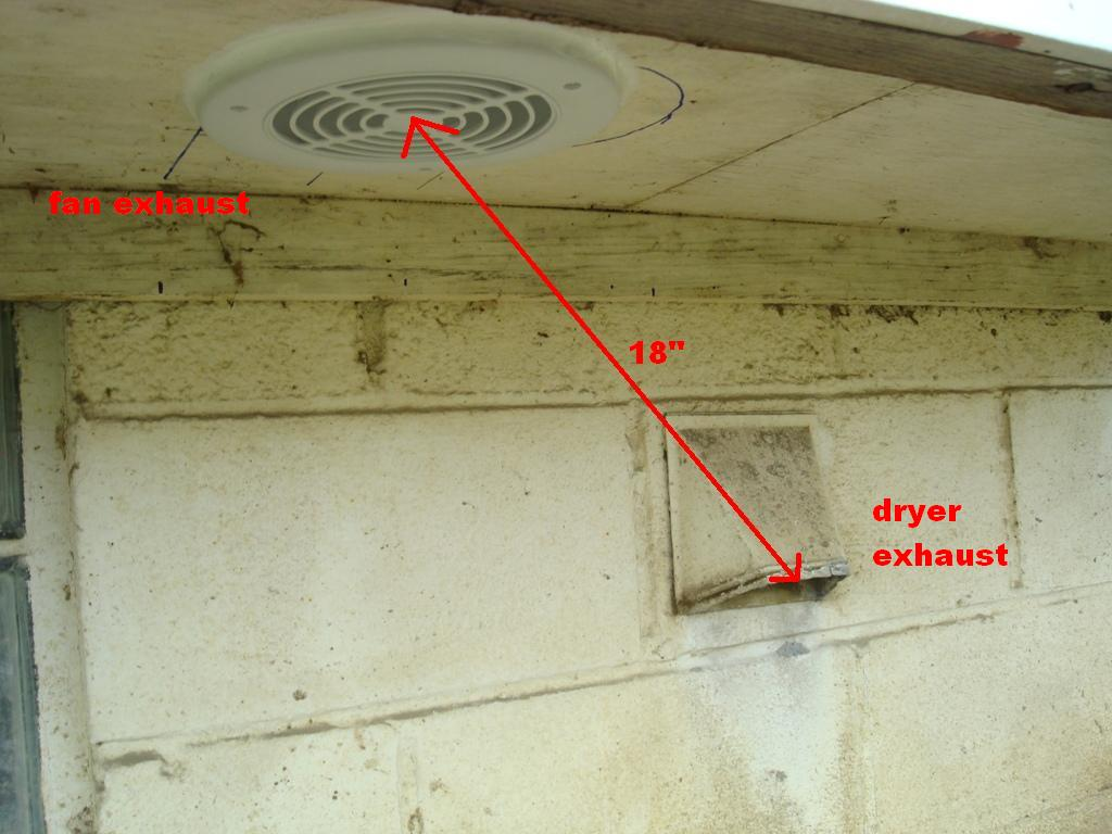 Marvelous Shower Fan Exhaust / Dryer Exhaust Location Pic1 ...