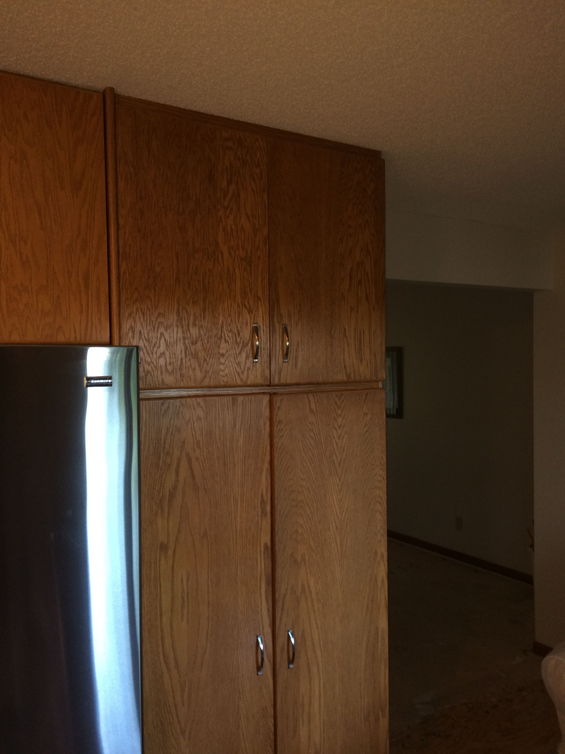 Removing Floor To Ceiling Pantry Cabinet Diy Home Improvement Forum