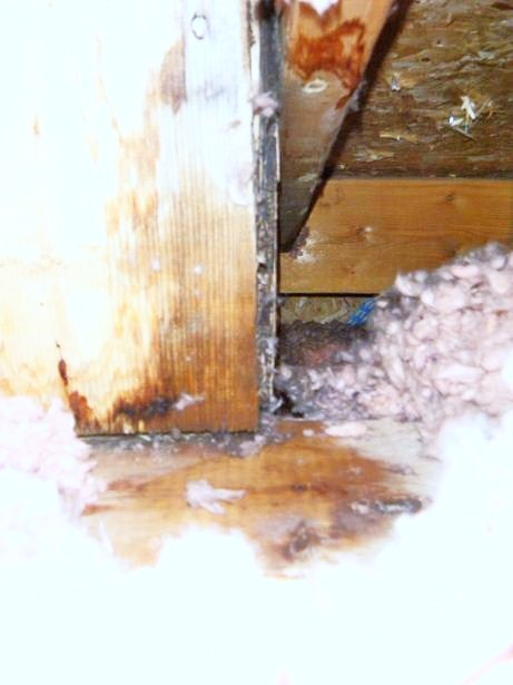 Chimney Chase Leaks Into Attic Roofing Siding Diy Home