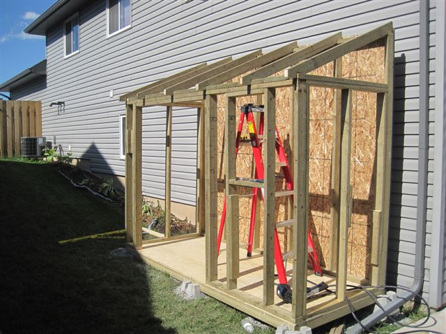 Want To Build Lean To Shed Need Opinions Building