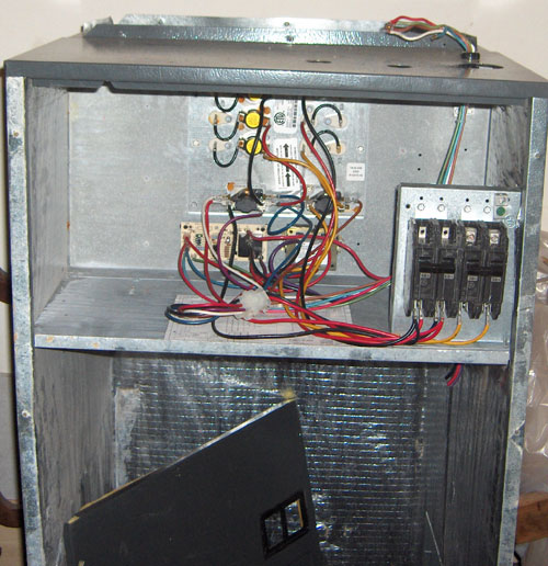 Goodman Air Handler With Missing Parts - Hvac
