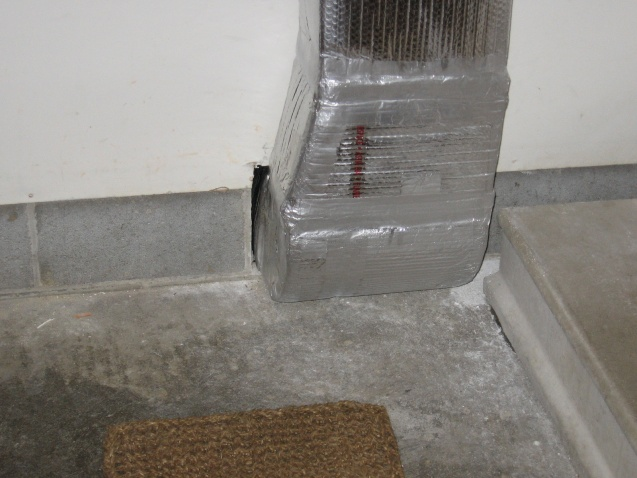 Framing Around Ductwork-picture.jpg