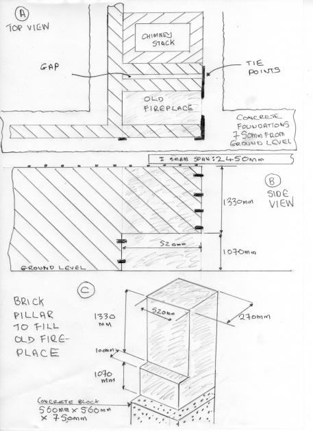 Footings concerning a plllar at a corner-pillar-fireplace.jpg