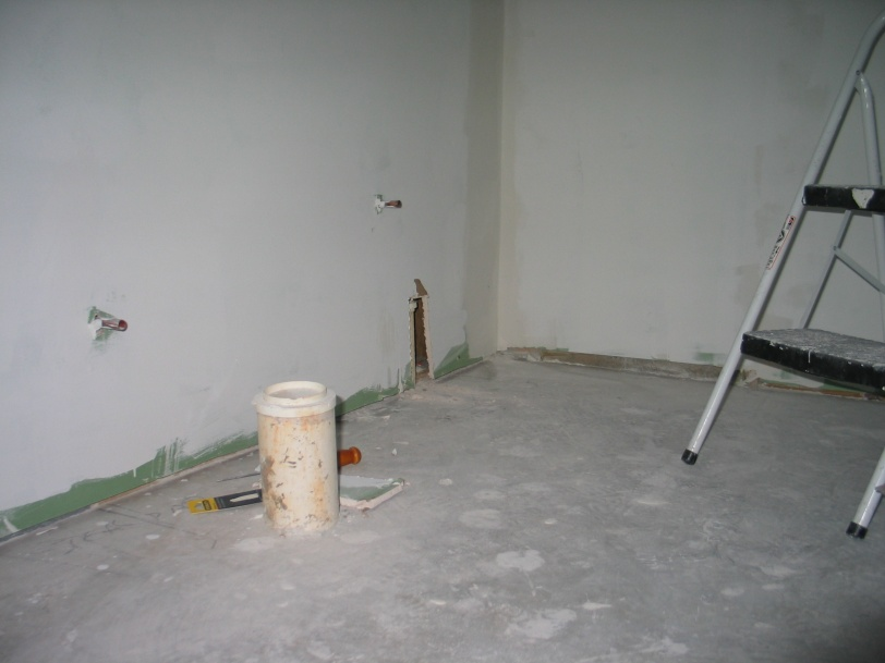 Do we have to break the concrete floor for a shower drain?-pipe-corner.jpg