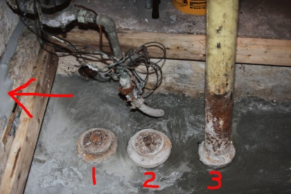 Distance from vent pipe to clean out?-pit-001.jpg