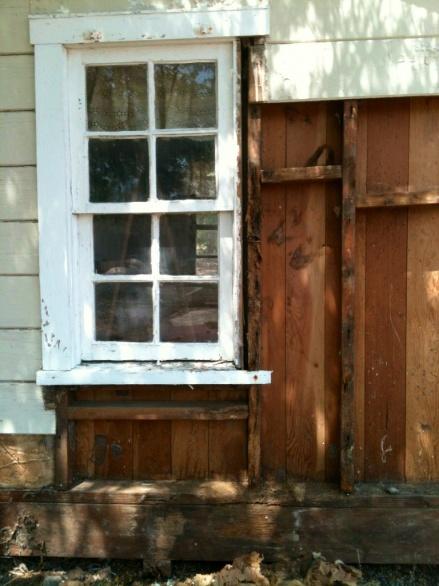 Repair rotten wall stud next to window-playhouse-wall-repair.jpg