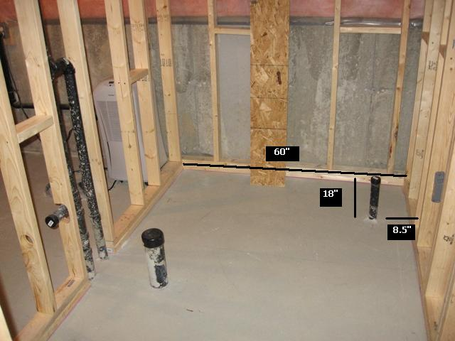How To Plumb A Basement Bathroom Home Design