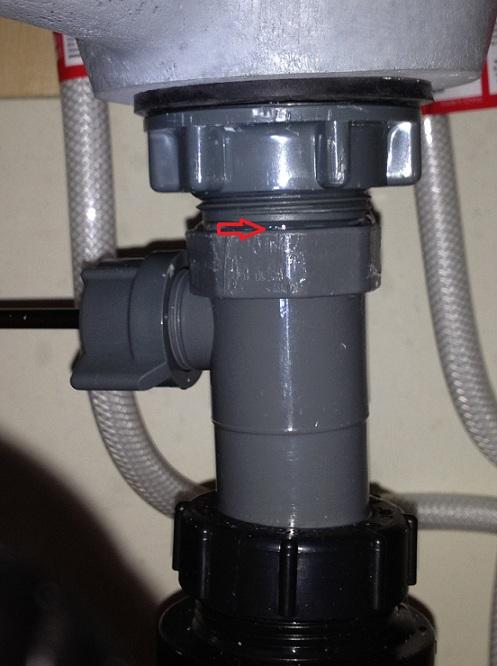 New Bathroom Sink Drain Leaks Plumb1 Jpg