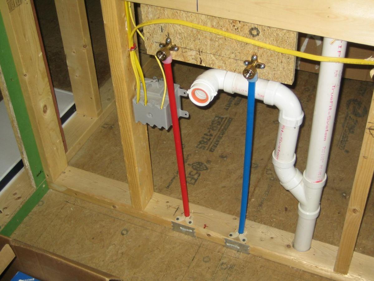 Rough In Drain For Sink Plumbing Diy Home Improvement