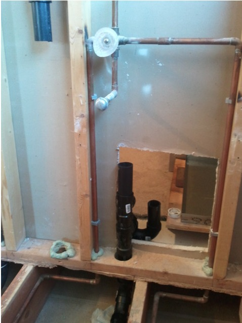 Plumbing For Shower And Steam Generator Plumbing Diy