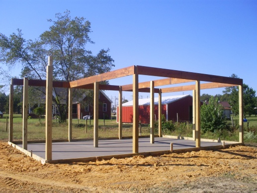 Just Garage Plans - Spacious Pole Barn Plans