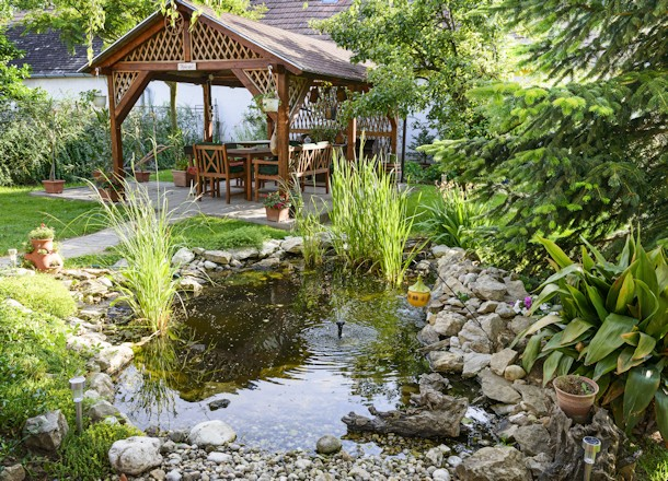 Add a Pond to Your Landscaping