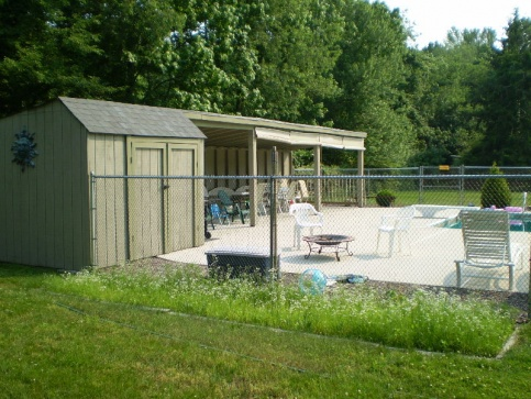 shed structure leaning building construction diy chatroom home