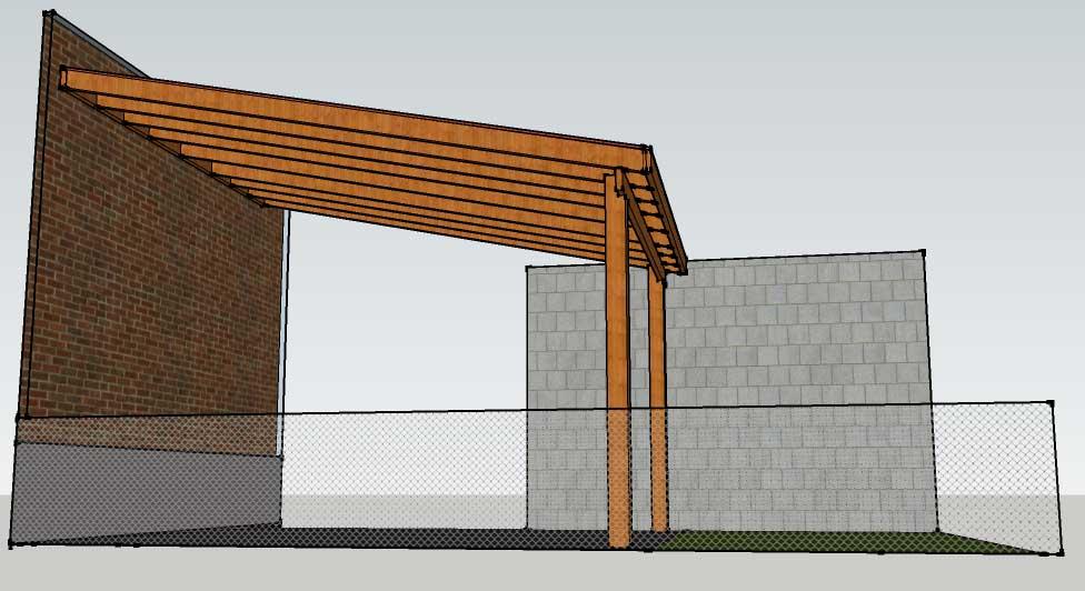 Delightful Patio Cover Porch Cover