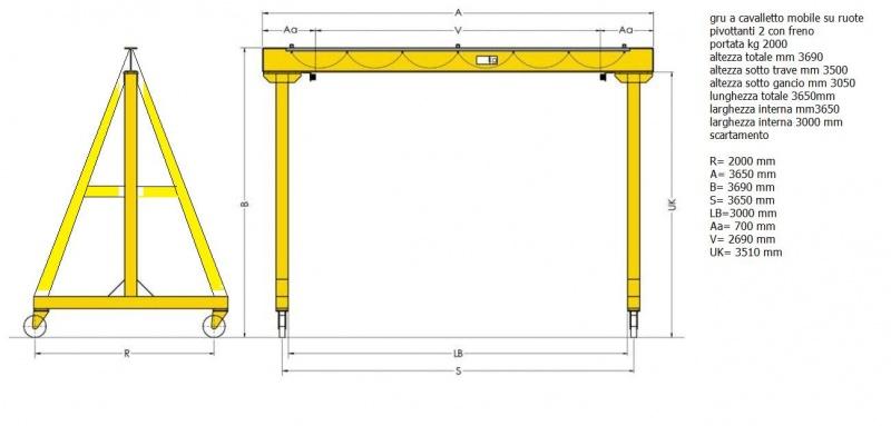 Steel frame gantry crane chain hoist 2 ton-portale.jpg