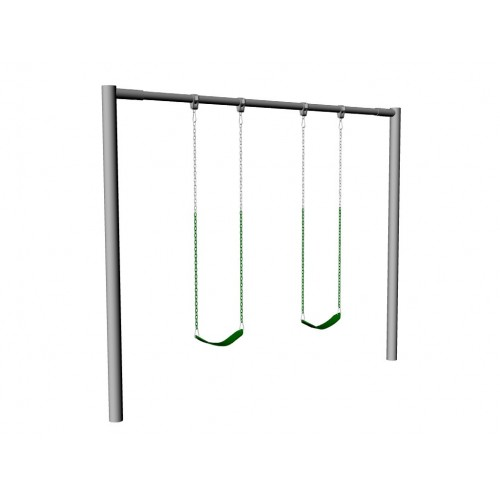Steel Swing Set, Post Frame - Building & Construction - DIY Chatroom ...
