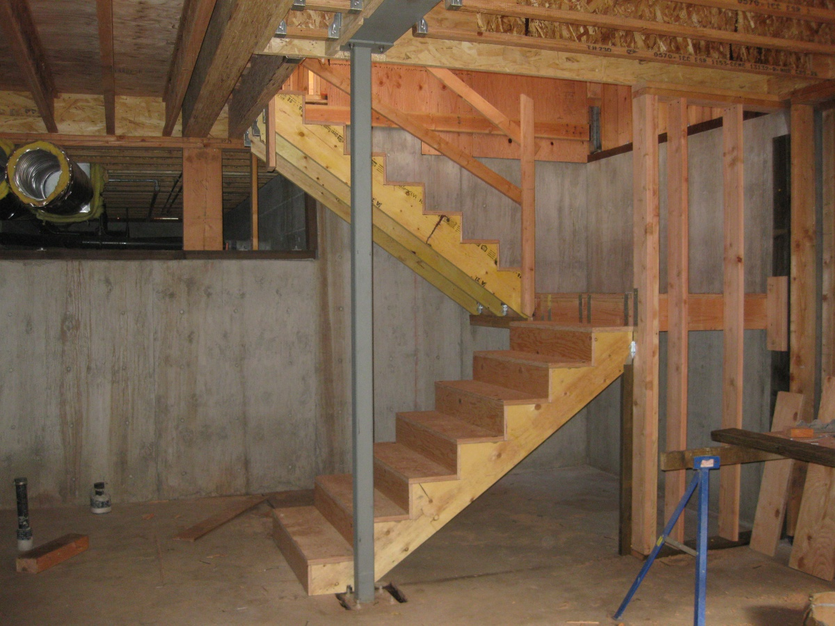 Basement Staircase Support Carpentry Diy Chatroom
