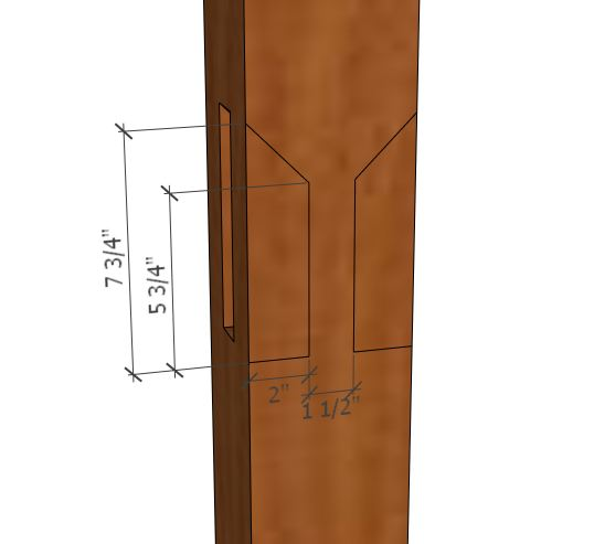 Notched Joints On Timber Frame Pergola Carpentry Diy