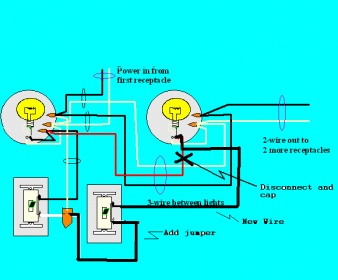 Switch wiring electrical diy chatroom home improvement forum greentooth Images