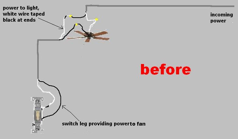 attic light electrical diy chatroom home improvement forum attic light power ceiling fan switch loop jpg