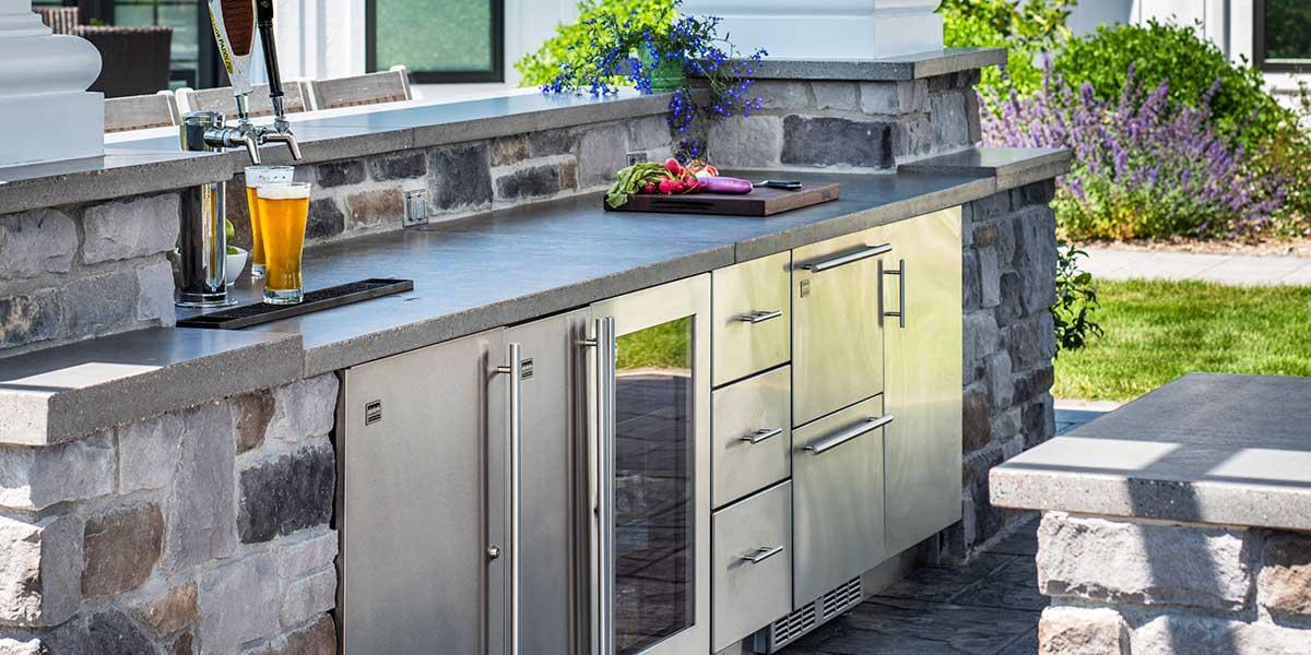 Offset concrete blocks - worried about support for granite-premium-outdoor-refrigerators-kalamazoo.jpg