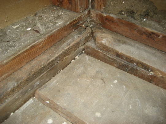 Bathroom Subfloor Pier And Beam Foundation Preping House Resale 321 ...