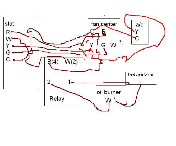 Honeywell Fan Center Relay Wiring    Diagram      Online Wiring