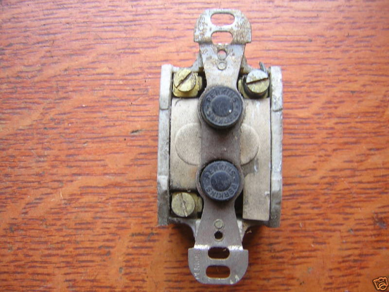How Can I Wire Up An Antique Pushon Light Switch Jpg