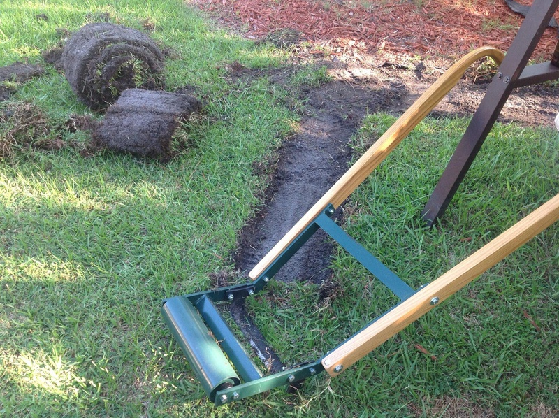 Diy Kick Type Sod Cutter Landscaping Lawn Care Room