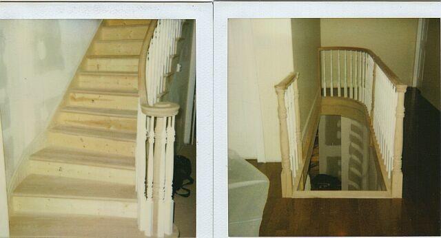 Need help on how to finish curved corner stair island-radius-wall.jpg