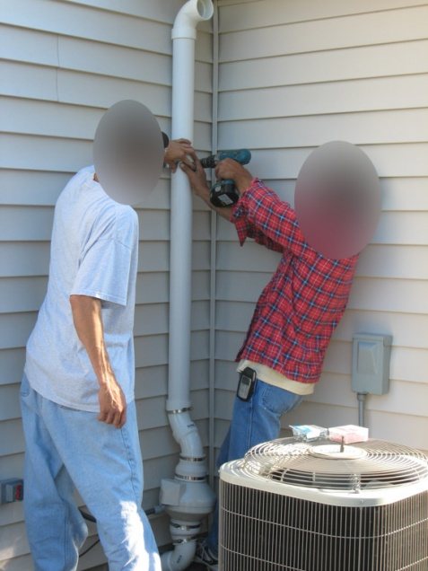 Radon Mitigation installed near AC Unit outside. Problem?-radon_mitigation2.jpg
