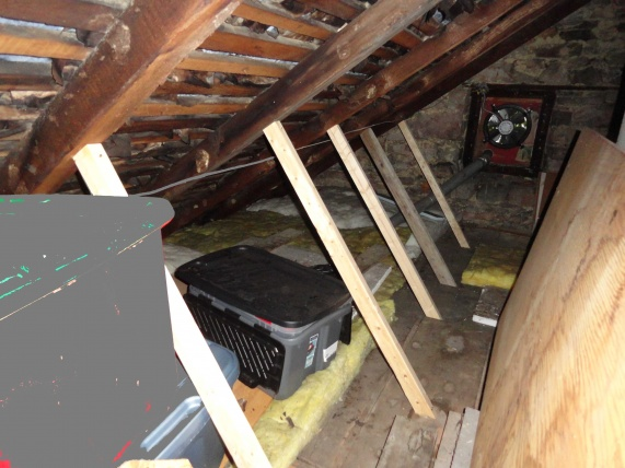Rerplace Roof On 200 Year Old House Rafter Supports 2 Jpg