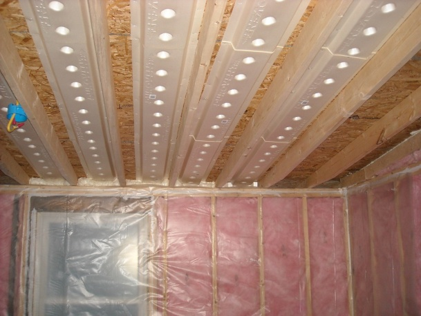Insulation In Vaulted Ceiling Help