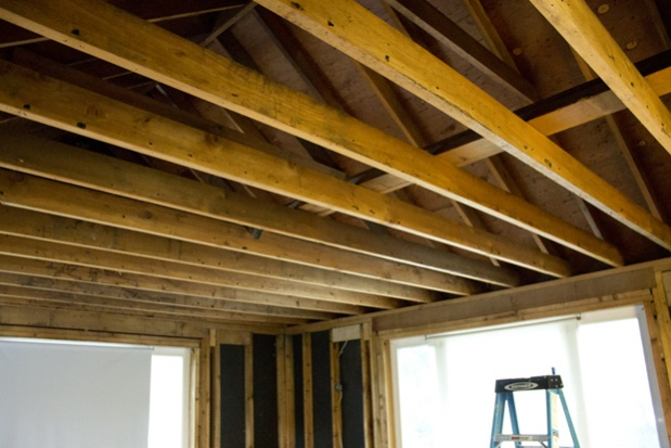 Move Joists For Higher Ceiling Building Amp Construction