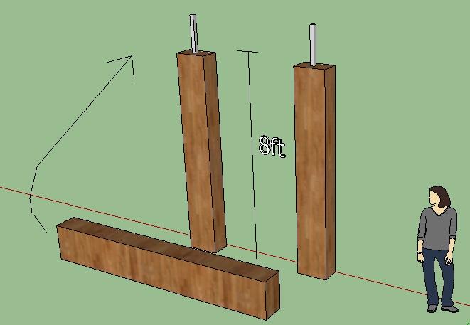 Lifting railroad tie for rustic arbor (pics)-railroad-tie-arbor.jpg