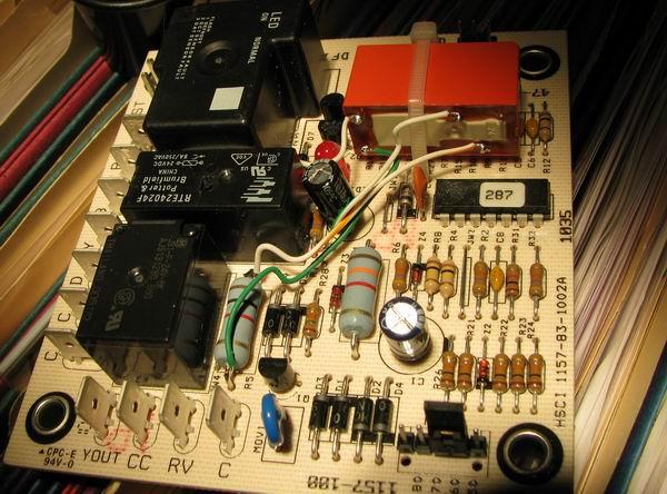 retrofit demand defrost goodman clpt42 hvac diy chatroom home rh diychatroom com Rheem Manuals Wiring Diagrams 8145-20 Defrost Timer Wiring Diagram