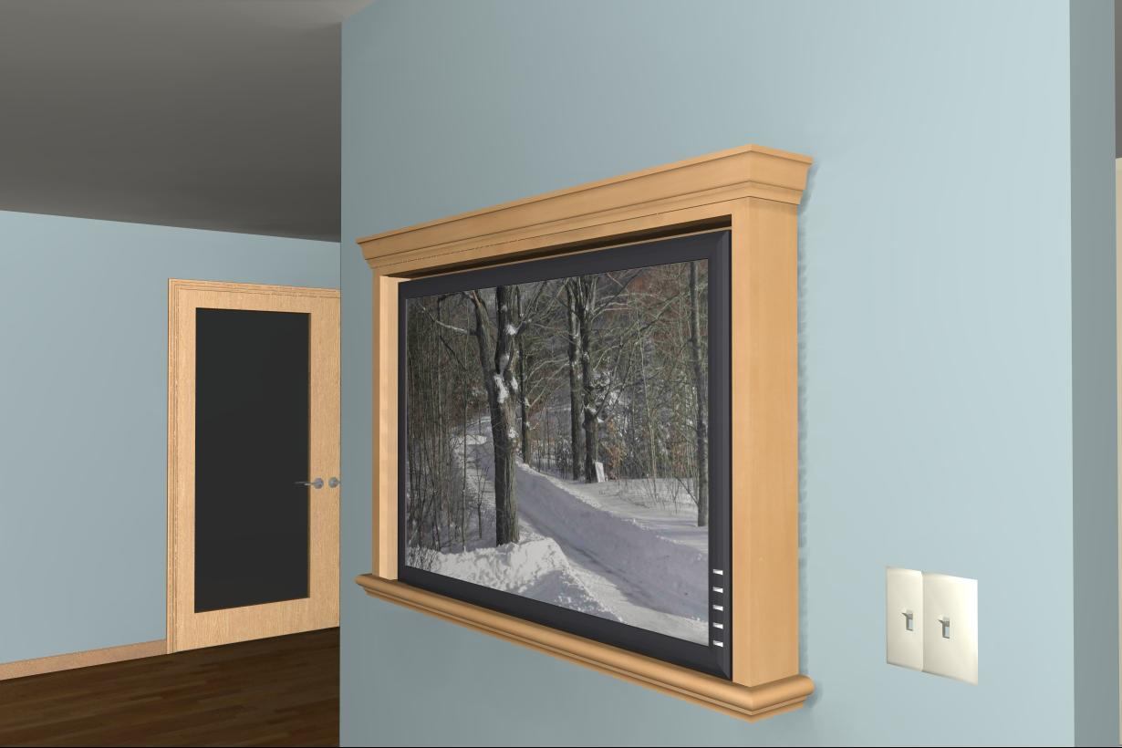 "How to spice up tv on the wall...looks ""bland""-raytrace2.jpg"