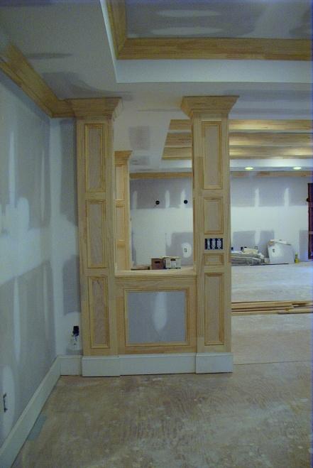 100 basement support columns my home redux hiding support c