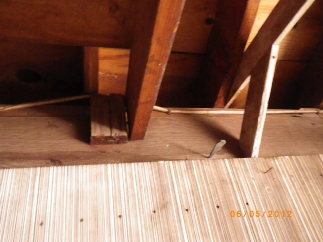 redoing improper rear supports in garage ceiling-rear1.jpg