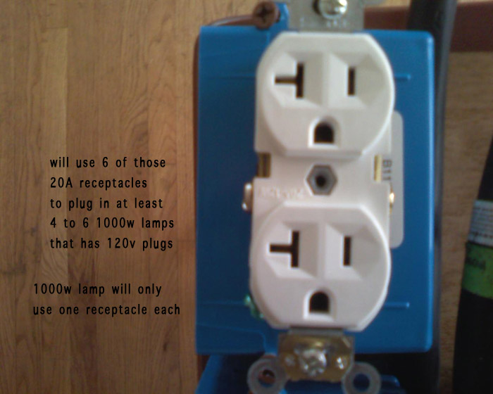 240v To Subpanel With 4x 120v Circuits - Electrical