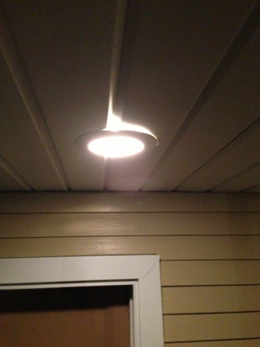 Exterior Soffit Recessed Lighting Insulation Jpg