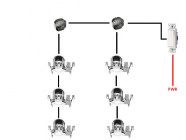 Recessed Lighting Wiring Code wwwlightneasynet