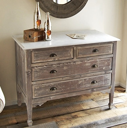 ... How Can I Make White Furniture Look Like Unstained Wood Reclaimed Wood Chest  ...