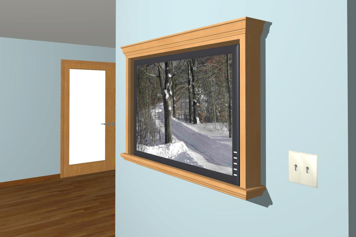 "How to spice up tv on the wall...looks ""bland""-render2.jpg"