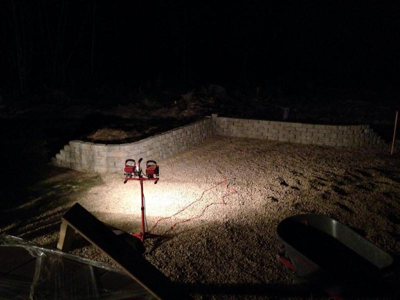 Landscape/Hardscape Project for WET Backyard-ret-wall-night.jpg