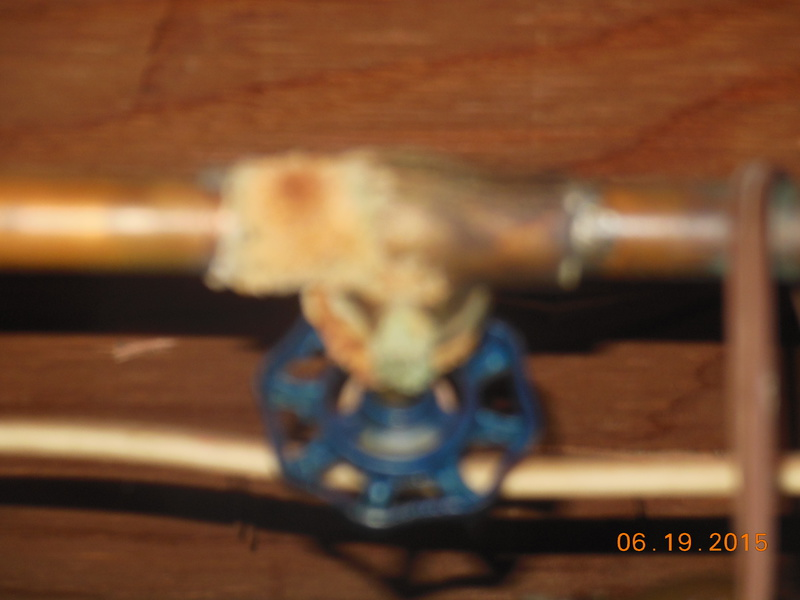 What is this corrosion from?  Cellar shut off valve-ri-pipe-1-.jpg