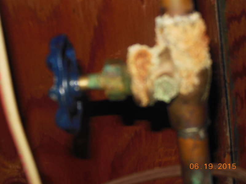 What is this corrosion from?  Cellar shut off valve-ri-pipe-2-.jpg
